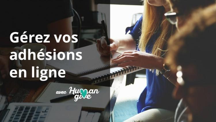 HumanGive intègre l'adhésion en ligne
